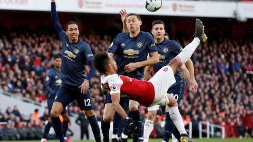 Arsenal vs Man United (Foto: Laman resmi Premier League)