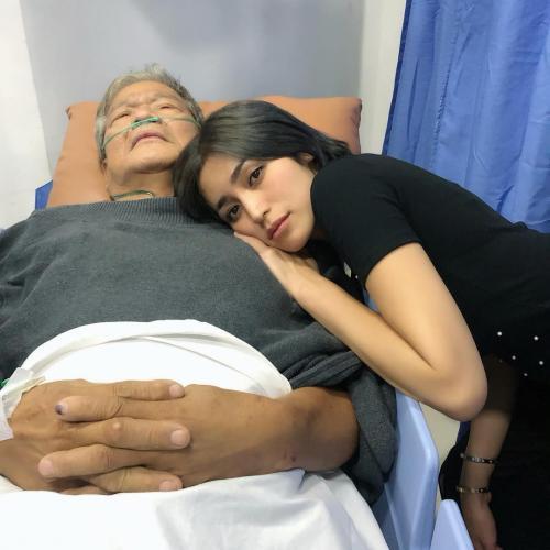 Jessica Iskandar dan ayah