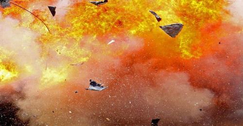 Ilustrasi ledakan bom. (Foto: Okezone)