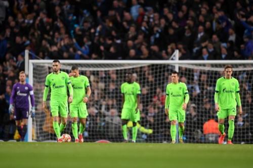Laga Manchester City vs Schalke