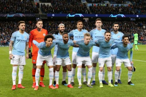Para pemain Manchester City