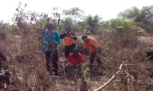 pemadaman kebakaran hutan Riau (Dok BNPB)