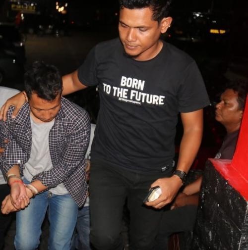 Terduga Pelaku Eksekutor Suruhan Tersangka Narkoba untuk Membunuh Jaksa Kejari Bintan Ditangkap (foto: Ist)