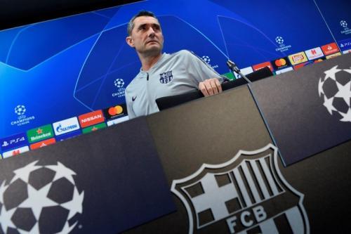 Pelatih Barcelona Ernesto Valverde (Foto: Laman resmi UEFA)