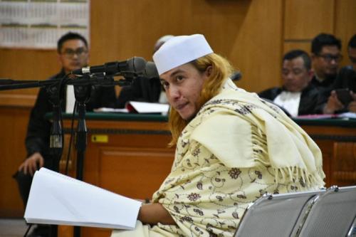 Habib Bahar di Persidangan