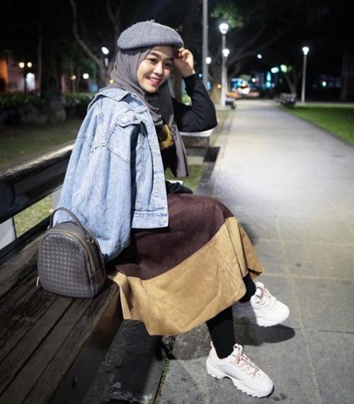 Anissa pertama kali pergi ke Taiwan pada 2012