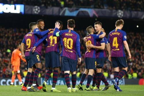 Skuad Barcelona (Foto: Laman resmi UEFA)