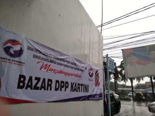 Bazar Perindo di Tangerang (foto: Anggun T/Okezone)