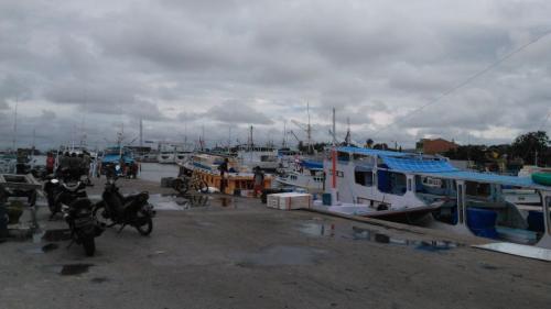 Kondisi Pelabuhan Paotere, Makassar (foto: Heman Amiruddin/Okezone)