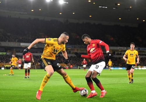 Wolverhampton vs Man United (Foto: Twitter/@Wolves)