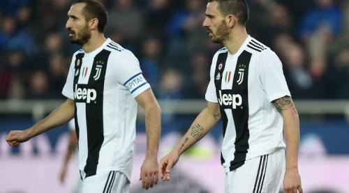 Duet Giorgio Chiellini dan Leonardo Bonucci jadi kunci sukses pertahanan Juventus