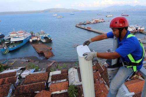 PT XL Axiata Tbk (XL Axiata) membangun jaringan data 4G LTE di Kalimantan.