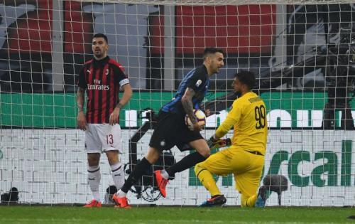 Inter Milan vs AC Milan (Foto: Laman resmi Inter Milan)