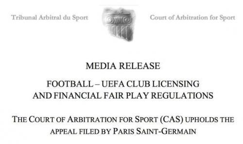 Banding PSG diterima CAS