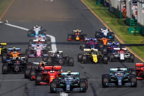Momen balapan F1 GP Australia 2019