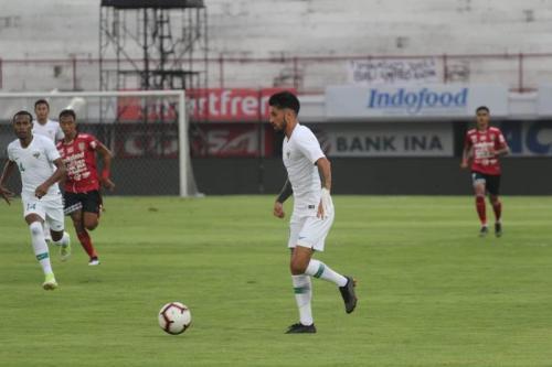 Uji Coba Timnas Indonesia vs Bali United