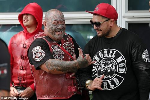 Penembakan Christchurch Hd: Komunitas Motor Paling Ditakuti Mongrel Mob Jaga Keamanan
