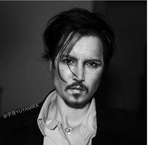 ideo transformasi wajah He menjadi begitu mirip dengan Mona Lisa