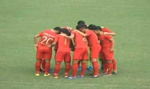 Timnas Indonesia U-23 vs Thailand (MNC Media)