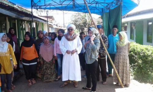 Pimpinan Majelis Dzikir Al-Ittihad Perindo Habib Achmad bin Abdullah Jindan di Kabupaten Bandung (foto: CDB Yudistira/Okezone)