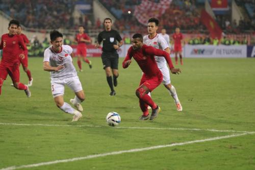 Timnas Indonesia U-23 vs Vietnam (Foto: PSSI)