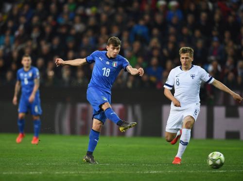 Laga Finlandia vs Italia