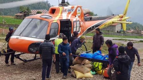 Sebagian besar mayat yang tewas berkaitan dengan insiden baru-baru ini di gunung (Ang Tashi Sherpa)