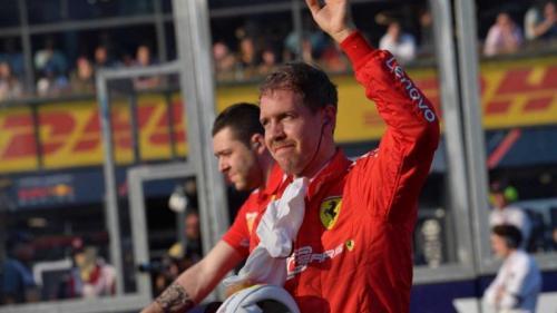 Sebastian Vettel (Foto: Laman resmi Formula 1)
