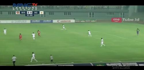 Laga uji coba terakhir Timnas Indonesia vs Myanmar