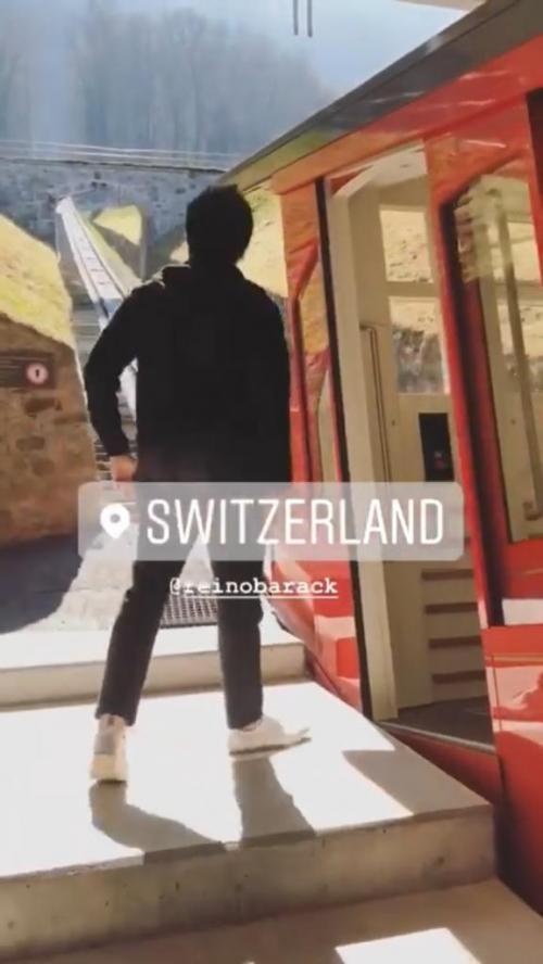 Memilih salah satu destinasi libura favorit Syahrini, Swiss,