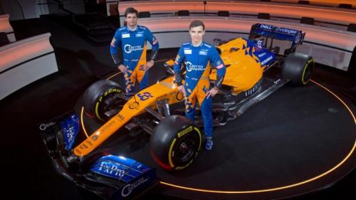 Duo pembalap McLaren, Carlos Sainz dan Lando Norris (Foto: Laman resmi F1)