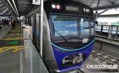 MRT. (Foto: Arif Julianto/Okezone)
