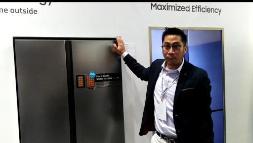 Samsung Forum 2019 Pamerkan Kulkas dengan Teknologi Pengenal