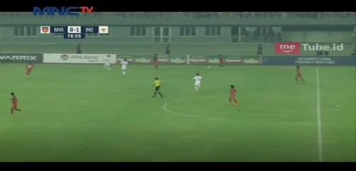 Timnas Indonesia vs Myanmar