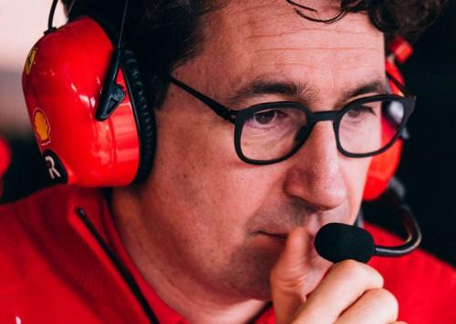 Prinsipal Scuderia Ferrari Mattia Binotto