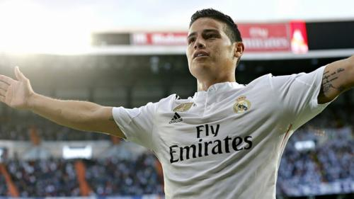 Penampilan James Rodriguez di Real Madrid
