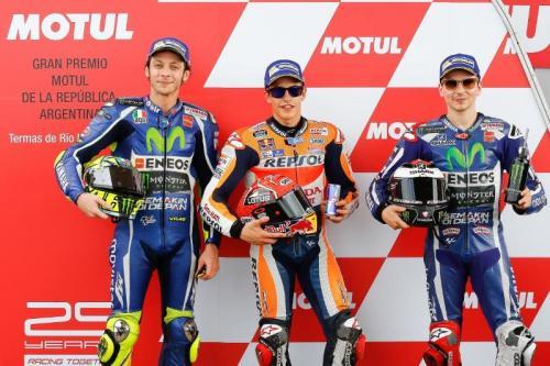 Valentino Rossi menyelesaikan lomba di peringkat dua (Foto: Laman resmi MotoGP)
