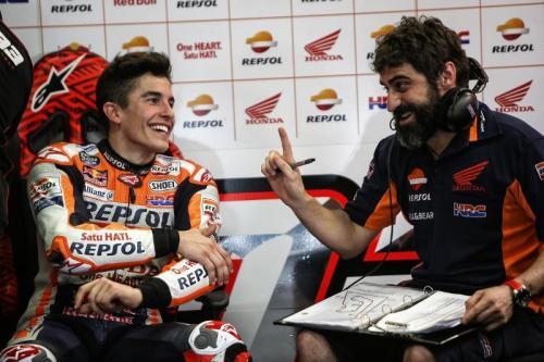 Santi Hernandez akrab dengan Marc Marquez (Foto: MotoGP)