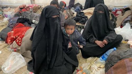 WNI diduga pendukung ISIS di kamp Suriah. (Foto: Afshin Ismaeli)