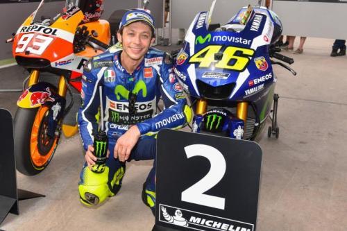 Valentino Rossi di MotoGP Argentina 2016 (Foto: Laman resmi MotoGP)