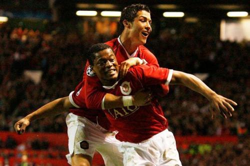 Patrice Evra dan Ronaldo