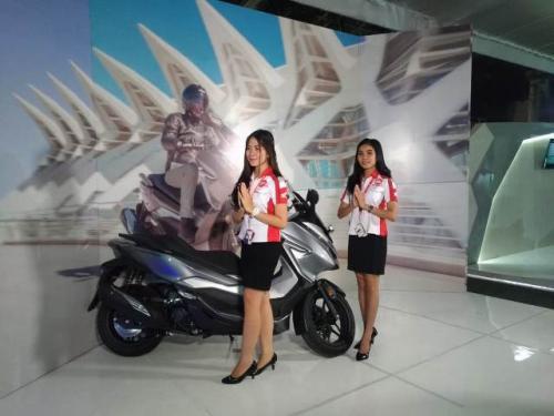 Honda Forza resmi meluncur di Sulawesi Utara. (Foto: Subhan Sabu/Okezone)