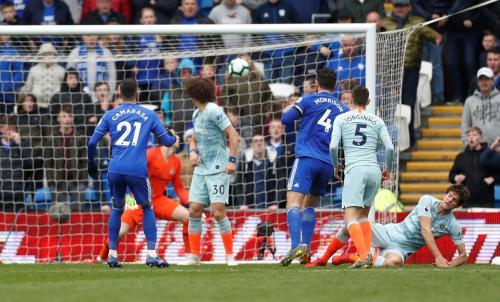 Cardiff City vs Chelsea (Foto: Twitter/@premierleague)