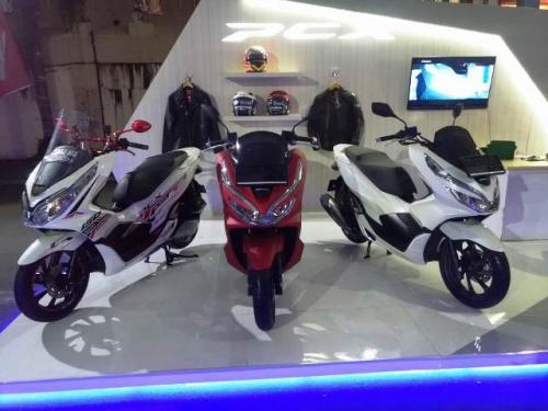 Honda PCX di Sulawesi Utara. (Foto: Subhan Sabu/Okezone)
