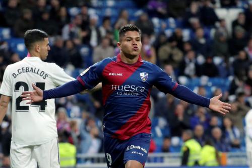 Laga Real Madrid vs Huesca