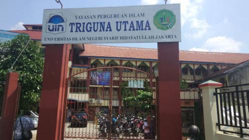 SMA Triguna (Okezone)