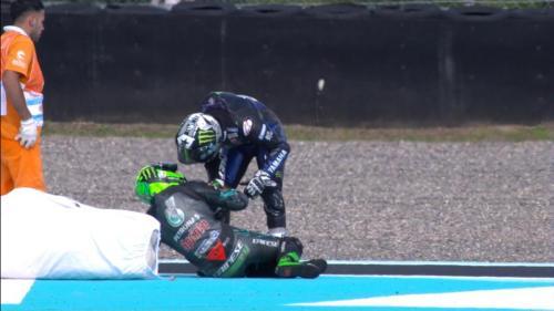 Maverick Vinales dan Franco Morbidelli (Foto: Crash)