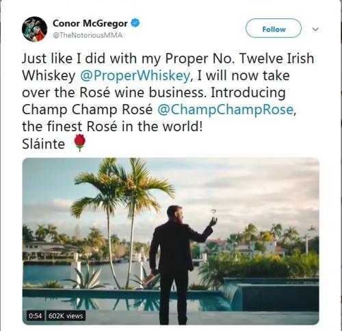 Twitter Conor McGregor (Foto: Twitter/@TheNotoriousMMA)