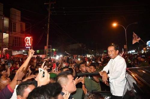 Capres Nomor Urut 01, Jokowi