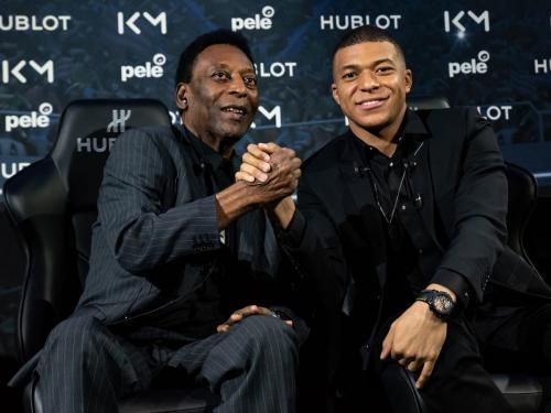 Pele dan Kylian Mbappe